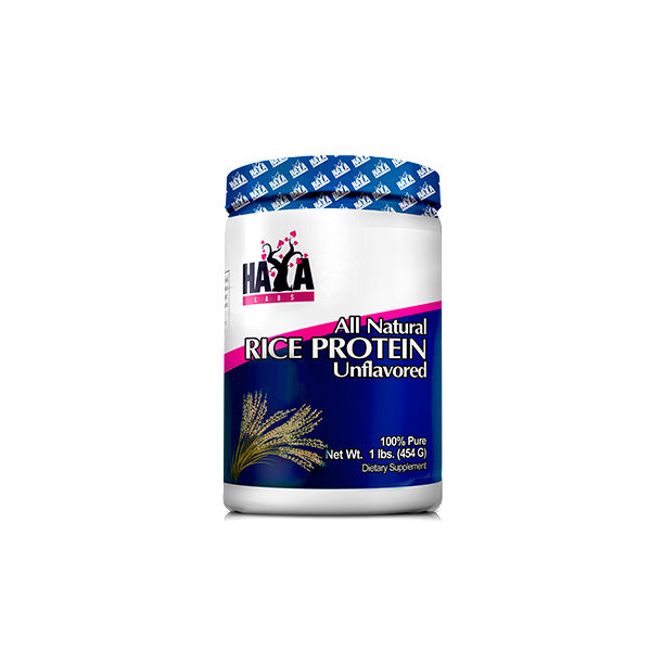 Haya Labs - 100% All Natural Rice Protein / 454 gr.- Unflavored