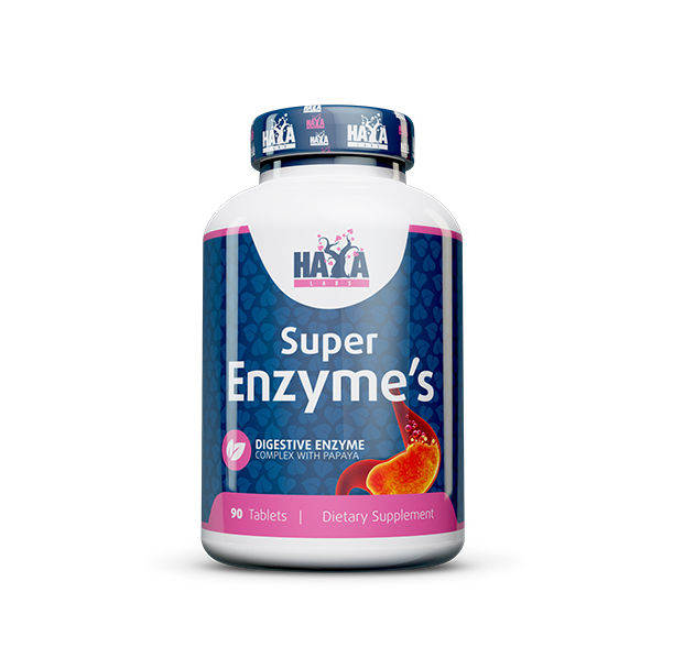 Haya Labs - Super Enzyme Complex / 90 tabs.