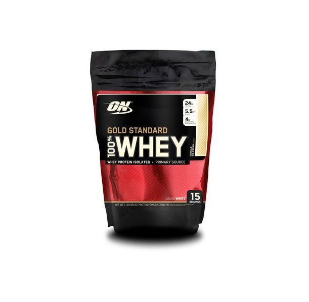 Optimum Nutrition - 100% Whey Gold Standard / 454 gr.