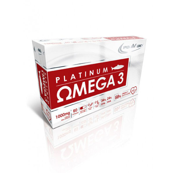 IronMaxx - Platinum Omega 3 / 60 softgels