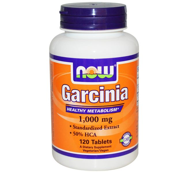 NOW - Garcinia 1000mg - 120tabs.
