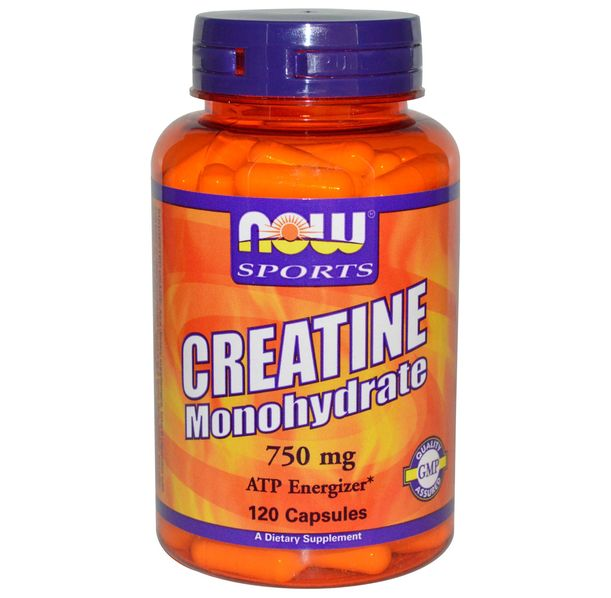 NOW - Creatine Monohydrate 750mg - 120 caps.