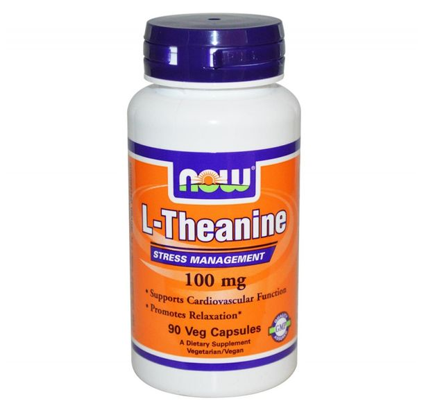 NOW - L-Theanine 100 mg - 90 caps.