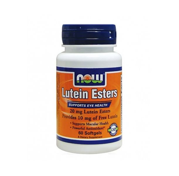 NOW - Lutein Esters 10mg. / 60 Softgels