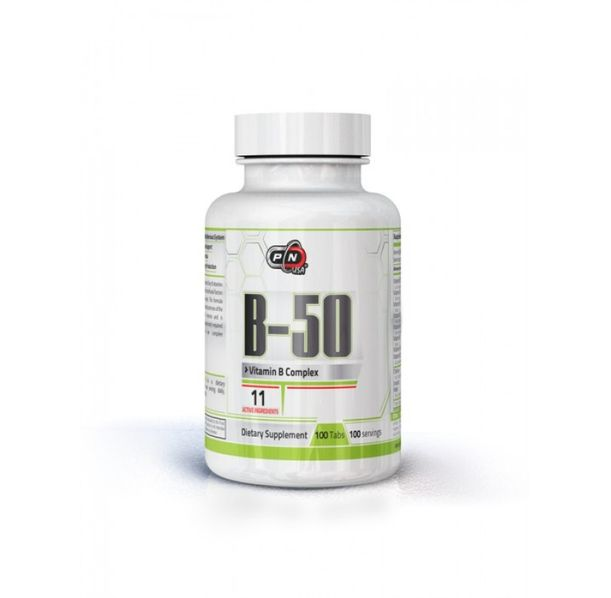 Pure Nutrition - Vitamin B-50 / 100 tabs.