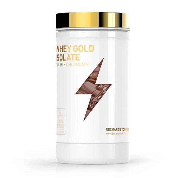 Battery Nutrition - Whey Gold Isolate / 600g.