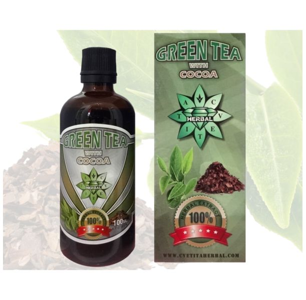 CVETITA HERBAL - Green Tea with Cocoa