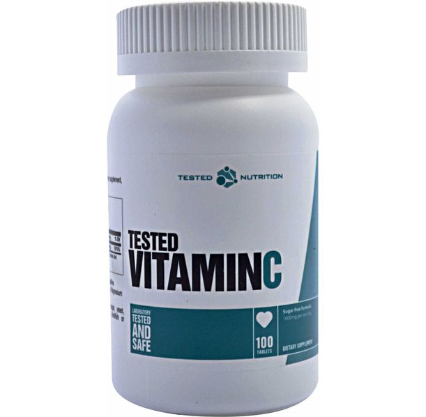 Tested Nutrition - Vitamin C / 100caps x 1000mg.