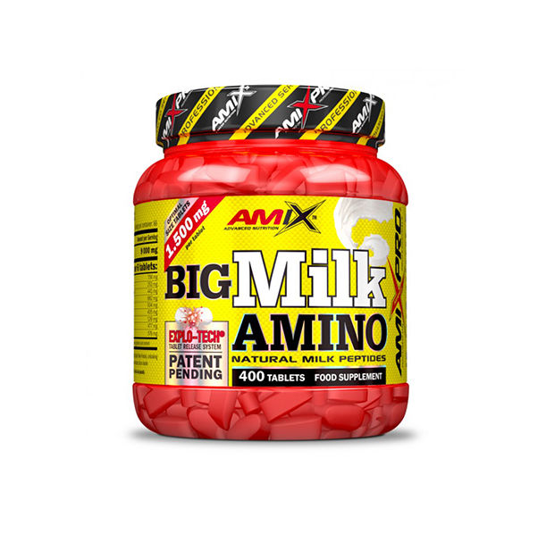 AMIX - Big Milk Amino / 400 Tabs.
