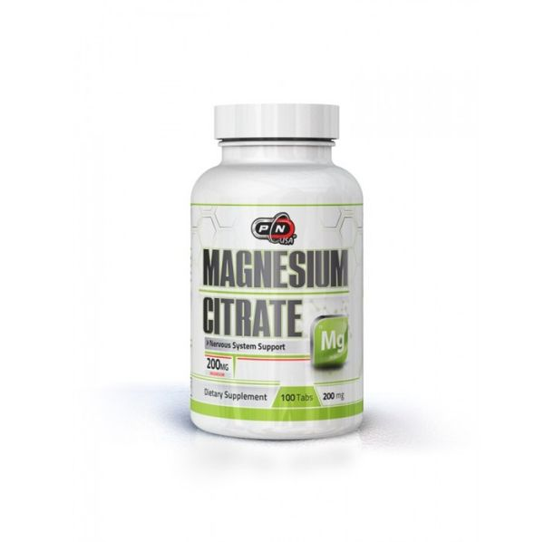 Pure Nutrition - Magnesium Citrate 200mg. / 200 tabs.