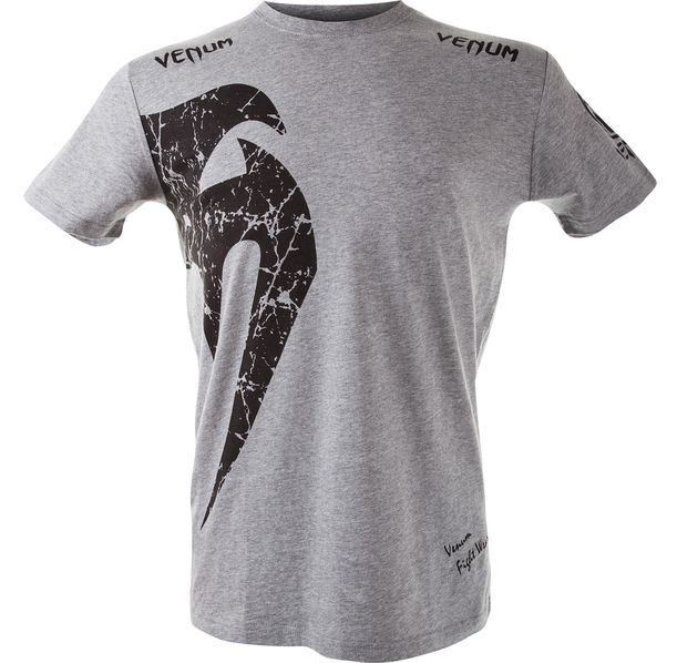 Тениска - VENUM GIANT T-SHIRT - GREY/BLACK