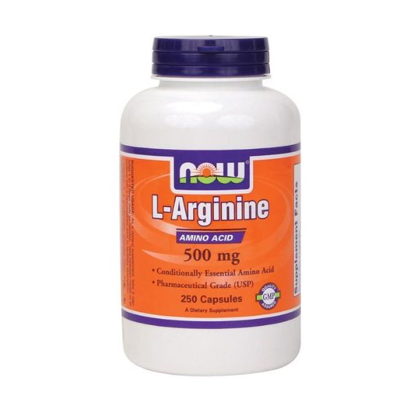 NOW - Arginine 500mg. / 250 caps.