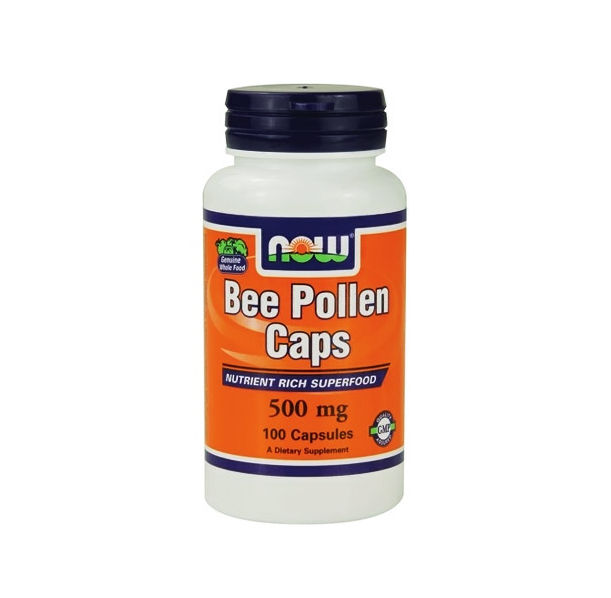 NOW - Bee Pollen 500mg / 100 caps.