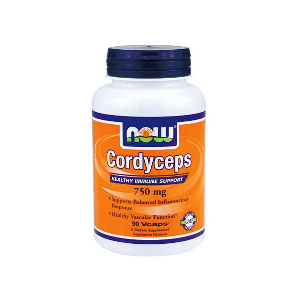 NOW - Cordyceps 750mg. / 90 VCaps.