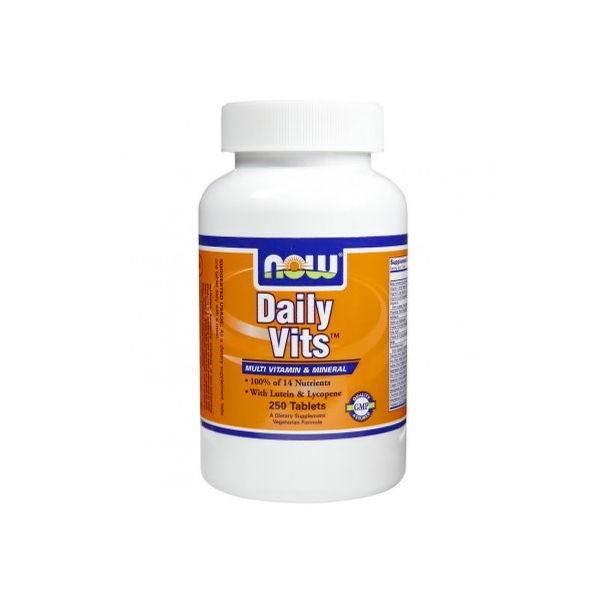 NOW - Daily Vits ™ Multi Vitamin & Mineral / 250 Tabs.