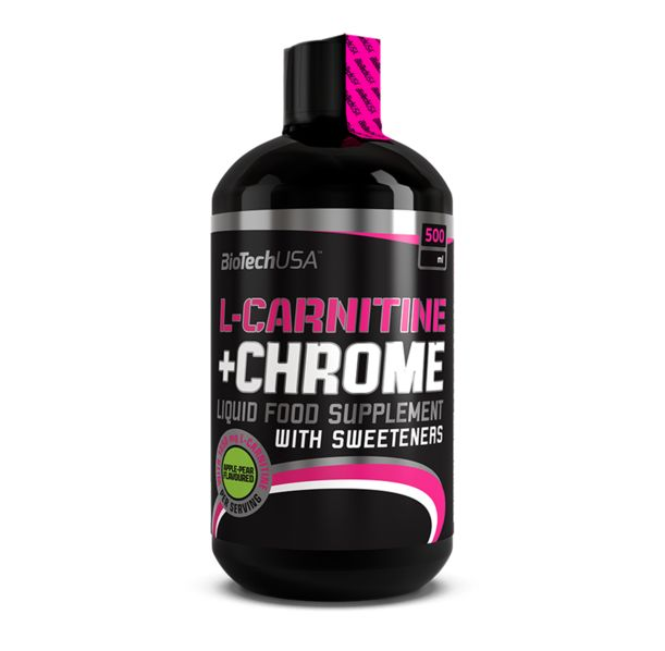 BioTech - L-Carnitine + Chrome / 500ml.