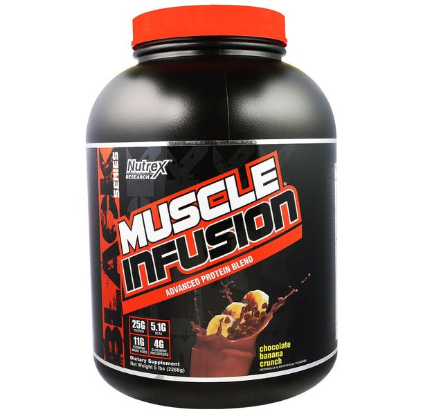 Nutrex - Muscle Infusion Black / 2270 gr