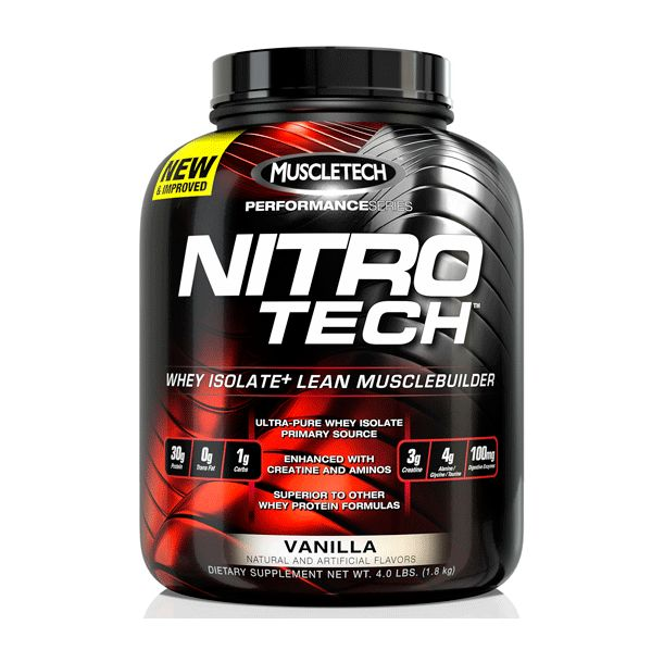 MuscleTech - Nitro-Tech Performance / 4 lbs.