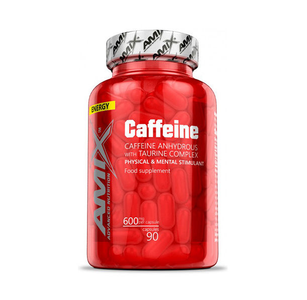 Amix - Caffeine with Taurine / 90caps.