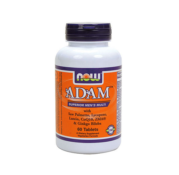 NOW - ADAM™ Superior Mens Multiple Vitamin / 60 tabs.