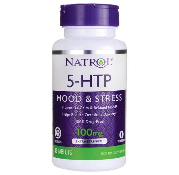 Natrol - 5-HTP 100mg - Time Release / 45 tabs