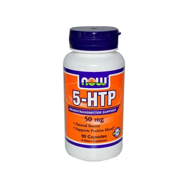 NOW - 5-HTP 50mg. / 90 caps.