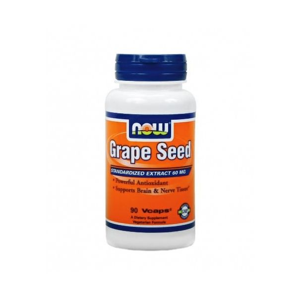 NOW - Grape Seed Antioxidant 60mg. / 90 VCaps.