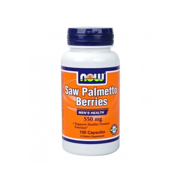 NOW - Saw Palmetto 550mg. / 100 Caps.