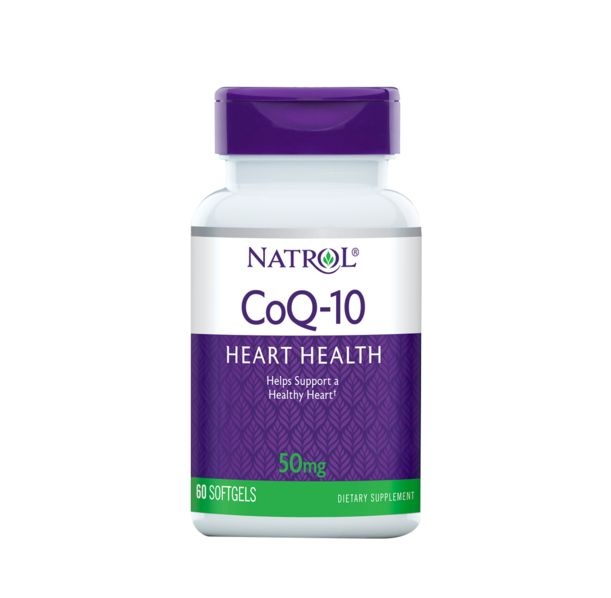 Natrol - CoQ-10 50mg / 60 softgels