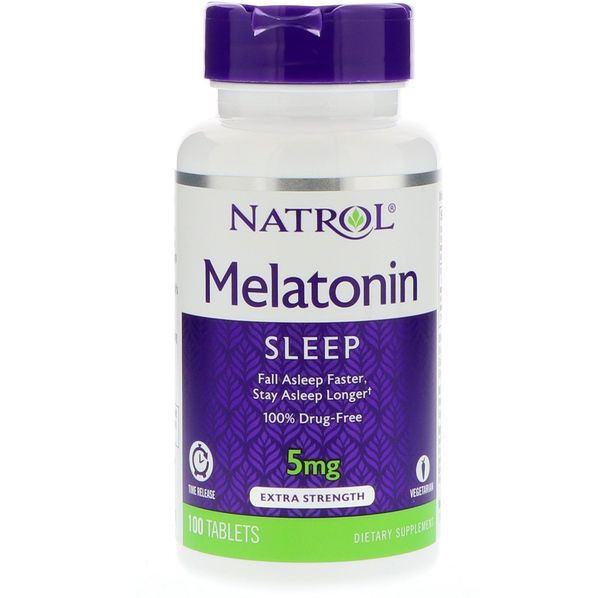 Natrol - Melatonin 5mg Time Release / 100 tab
