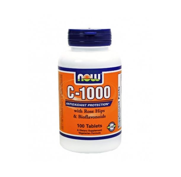 NOW - Vitamin C-1000 No SR / 100 Tabs.