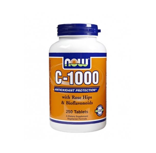 NOW - Vitamin C-1000 / 250 Tabs.