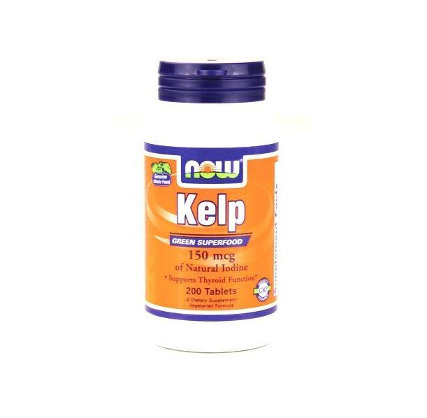 NOW - Kelp 150mcg. / 200 Tabs.