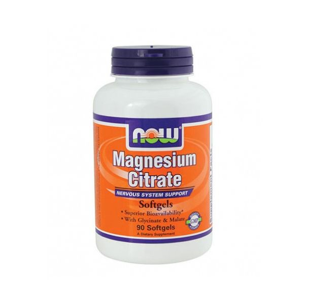 NOW - Magnesium Citrate 134mg. / 90 Softgels