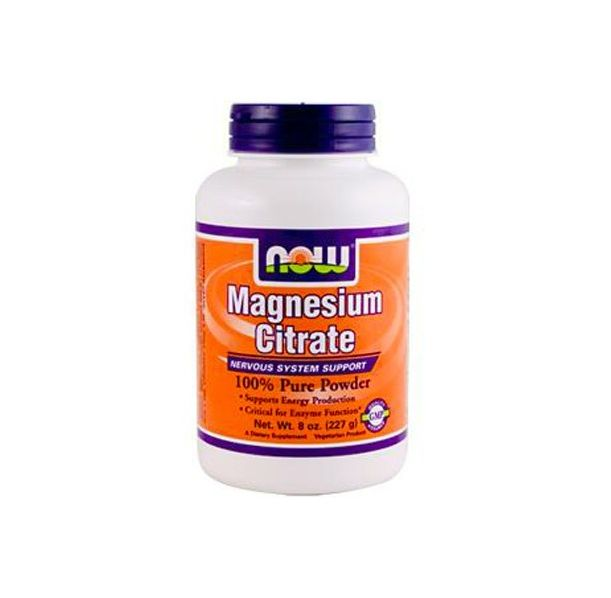 NOW - Magnesium Citrate / 227 gr.