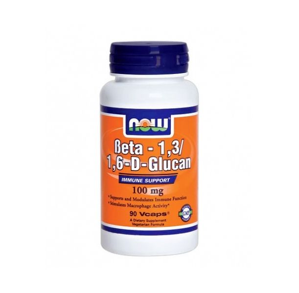 NOW - Beta 1,3/1,6- D -Glucan 100mg. / 90 Vcaps.