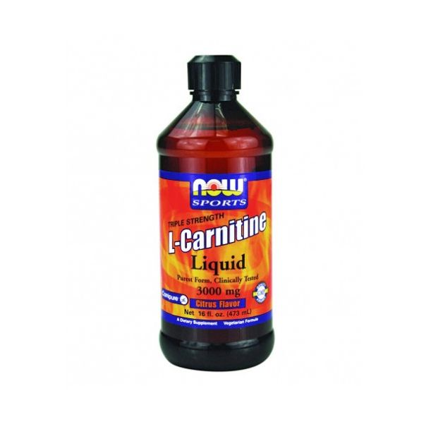 NOW - L-Carnitine Liquid / 930ml.