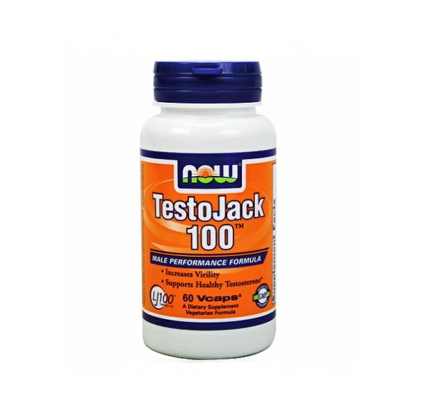 NOW - TestoJack 100 ™ / 60 VCaps.