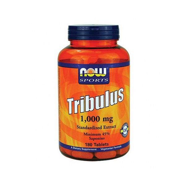 NOW - Tribulus Terrestris 1000 mg. / 180 Tabs.