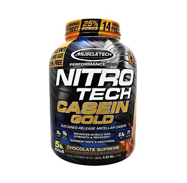 MuscleTech - Performance Series Nitro Tech Casein Gold / 2270 gr.​