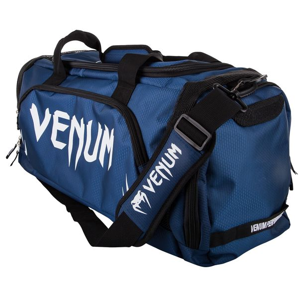 Спортен Сак - Venum Trainer Lite Sport Bag - Navy Blue/White​