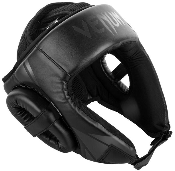 ПРОТЕКТОР ЗА ГЛАВА / КАСКА - Venum Challenger Open Face Headgear - Black/Black​