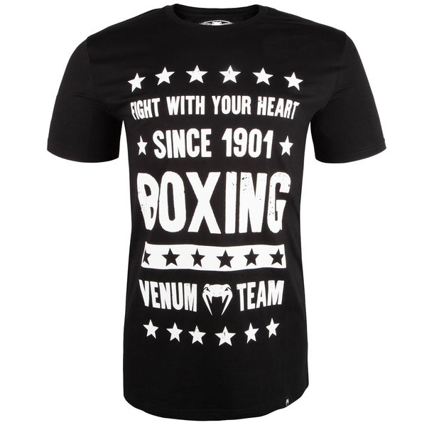 Тениска - Venum Boxing Origins T-shirt - Black