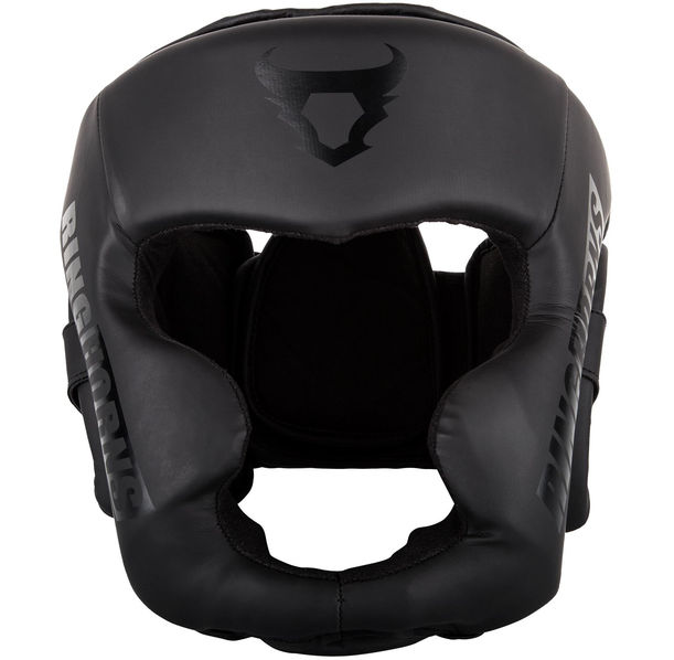 Протектор за глава / Каска - Ringhorns Charger Headgear-Black/Black ​