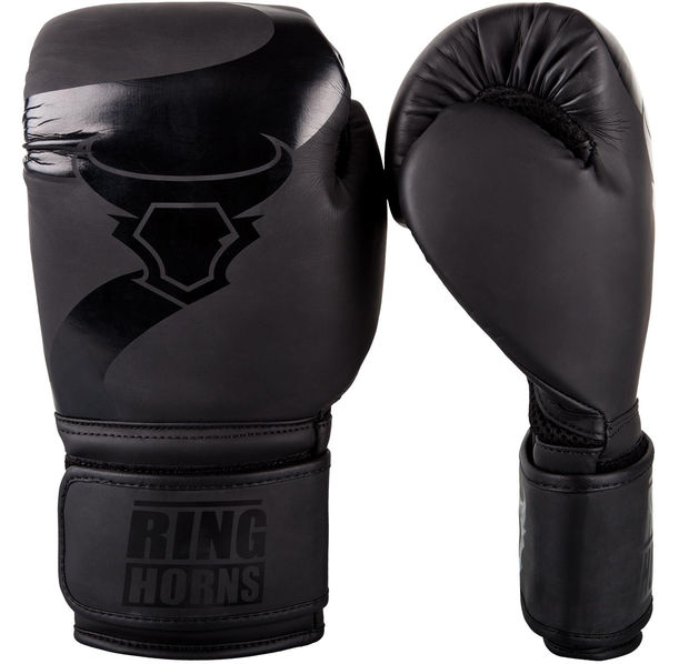 Боксови Ръкавици - Ringhorns Charger Boxing Gloves - Black / Black​