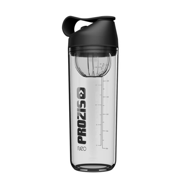 Prozis Sport Neo Mixer Bottle Crystal Jet Black / 600 ml.