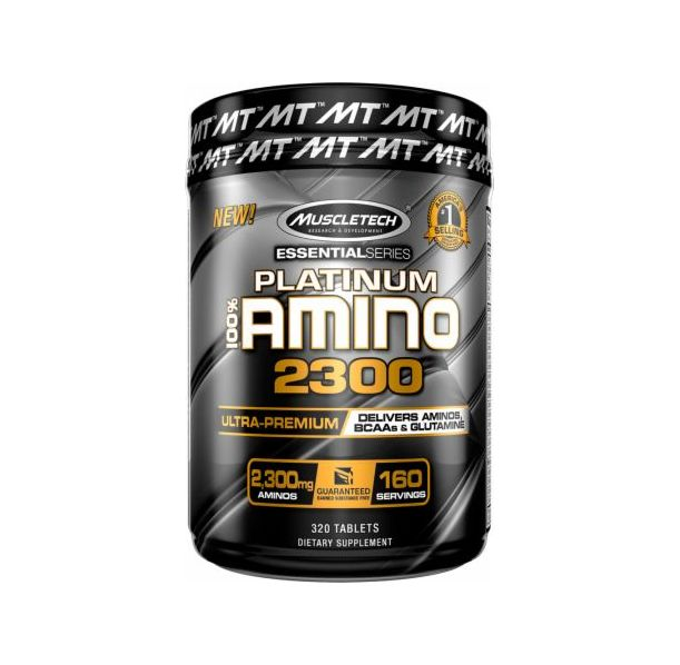 MuscleTech - Platinum 100% Amino 2300 / 320tabs.​
