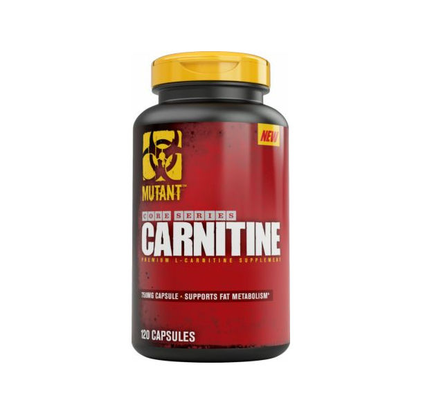 MUTANT - CARNITINE 750mg. / 120Caps​