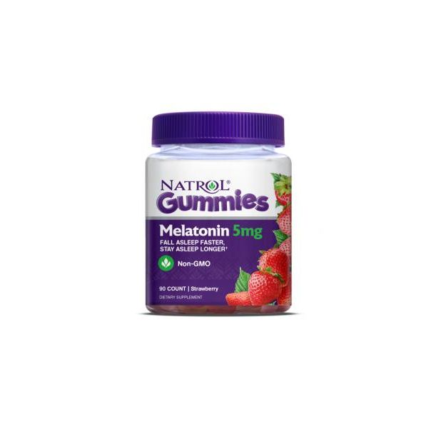 Natrol - Melatonin Gummies 5mg / 90 tabs.​