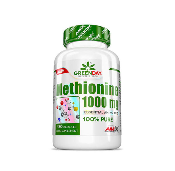 AMIX GreenDay METHIONINE 1000 mg / 120 Caps.